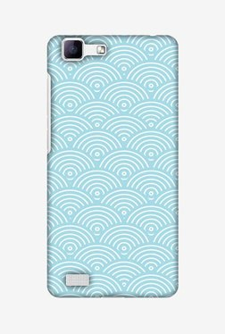 Amzer Overlapped Circles Hard Shell Designer Case For Vivo V1/Y35