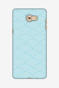 Amzer Overlapped Circles Hard Shell Designer Case For Samsung C7 Pro