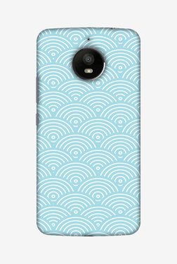 Amzer Overlapped Circles Hard Shell Designer Case For Moto E4 Plus