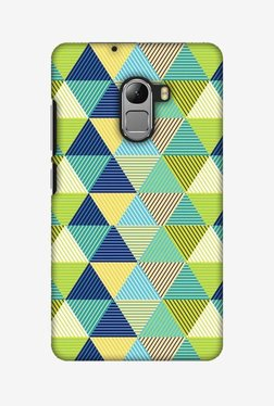 Amzer Triangles & Triangles Hard Shell Designer Case For Lenovo A7010/K4 Note