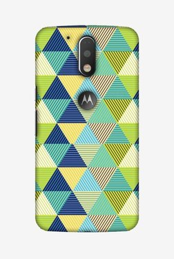 Amzer Triangles & Triangles Hard Shell Designer Case For Moto G4/G4 Plus