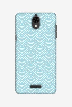 Amzer Overlapped Circles Hard Shell Designer Case For Coolpad Mega 2.5D