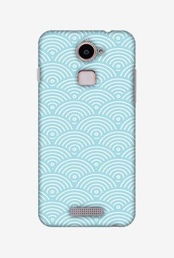 Amzer Overlapped Circles Hard Shell Designer Case For Coolpad Note 3 Lite
