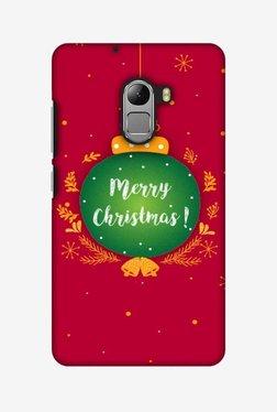 Amzer Christmas Hard Shell Designer Case For Lenovo A7010/K4 Note