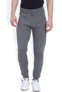 ROCX Dark Grey Cotton Mid Rise Joggers