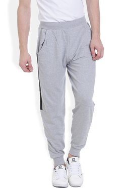 ROCX Light Grey Cotton Mid Rise Joggers