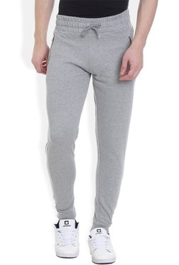 ROCX Grey Cotton Mid Rise Joggers