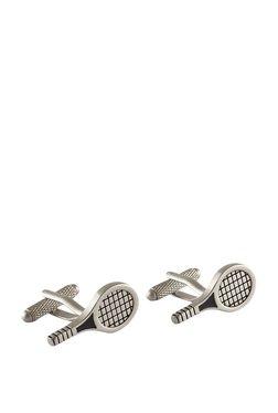 Forst Silver Racket Metal Cufflinks