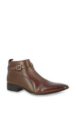 Alberto Torresi Formentera Tobacco Brown Formal Boots