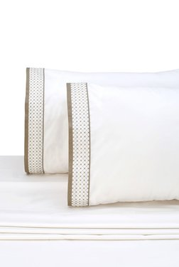 AnnaSimona Merylyn 3 Piece Nano White Bed Sheet Set