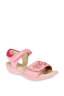 Clarks Fairy Nellie Baby Pink Floater Sandals