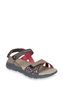 Lee Cooper Grey Floater Sandals