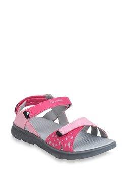 Lee Cooper Pink Floater Sandals