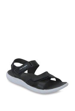Lee Cooper Black Floater Sandals
