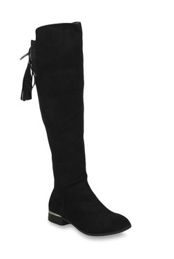 2f011c2e29f Truffle Collection Black Casual Booties