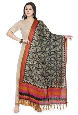 81c92b8f08 Varanga Beige   Pink Art Silk Bhagalpuri Dupatta