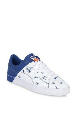 Puma Kids Basket Jr Justice League White   Limoges Sneakers ed997b36b