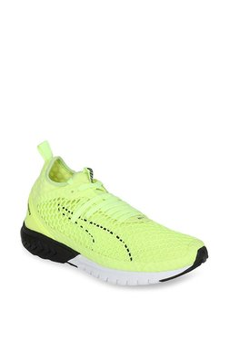 Puma Ignite Dual Netfit Green Running Shoes for Men online in India ... c19128cd5