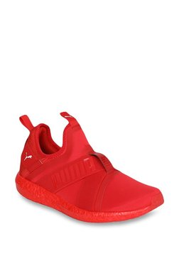 Puma Mega NRGY X High Risk Red Running Shoes