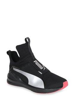 Puma Fierce Core Black   Silver Training Shoes deb74a758