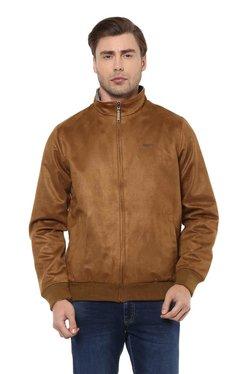 Allen Solly Brown & Grey Reversible Jacket