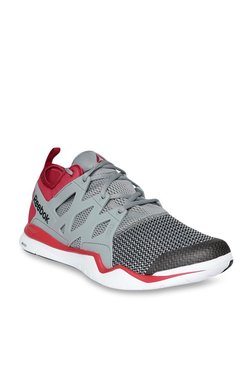 51d8689440161b Reebok ZCut TR 3.0 Grey   Red Training Shoes
