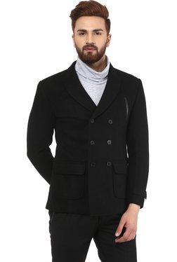 Mr Button Black Slim Fit Blazer