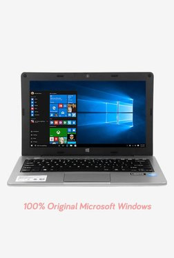 Micromax Canvas L1161 Lapbook (Atom/2GB/32GB eMMC/29.46cm(11.6)/Win10) Silver image