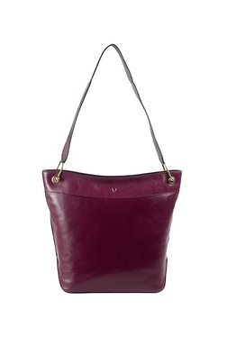 Hidesign X Kalki Dancing 03 Burgandy Textured Leather Tote 6f791613daf92