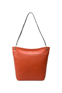 Hidesign X Kalki Dancing 03 Portland Orange Textured Tote 2a5440ddee4e4