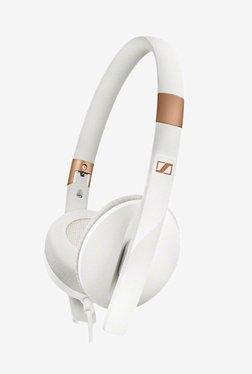 Sennheiser HD 2.30i Over The Ear Headphone with Mic (White)