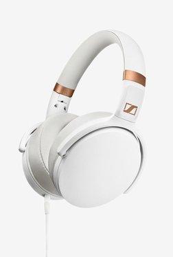 Sennheiser HD 4.30G Over The Ear Headphone with Mic (White)