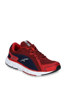 Furo By Red Chief Red & Navy Running Shoes