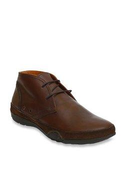 Salt 'n' Pepper Robust Brown Chukka Boots