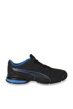 fad5b28b971 Puma Tazon Modern SL FM Black   Lapis Blue Running Shoes