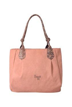 Baggit L Zylose Y G Z Creamy Rose Pink Printed Shoulder Bag