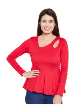 MEEE Red Cotton Top