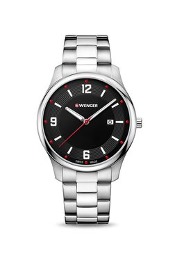 Wenger 01.1441.110 City Active Analog Watch For Men