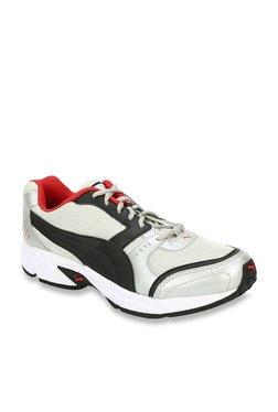 Puma Argus DP Off-White & Black Running Shoes