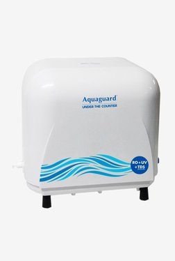 Eureka Forbes Aquaguard UTC RO + UV + MTDS 8 L Water Purifier (White)