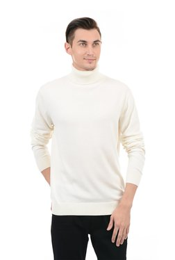 GANT Cream Turtle Neck Sweater