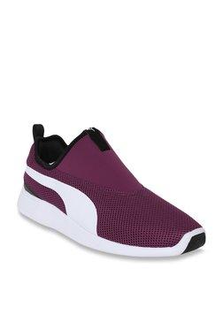 08be0944175b Puma ST Trainer Evo V2 Dark Purple   White Training Shoes