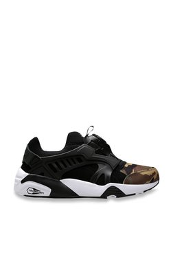 Puma Disc Blaze Black & White Sneakers