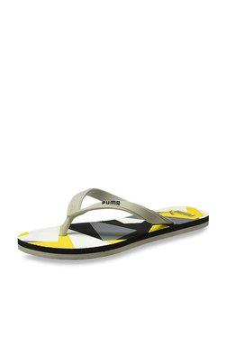f3525f2ab Puma Florida Dp Grey Flip Flops for Men online in India at Best ...