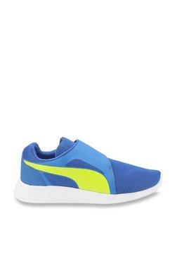 Puma Kids ST Evo AC Jr Lapis Blue   Yellow Sneakers 5d8ba1c93