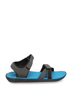 Puma Pebble Dark Shadow & Black Floater Sandals