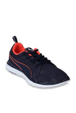 Puma Flex Camo Mesh IDP Peacoat Running Shoes