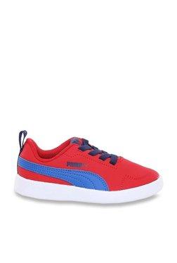 ca9f6cd041e Puma Kids Courtflex PS Toreador & Lapis Blue Sneakers