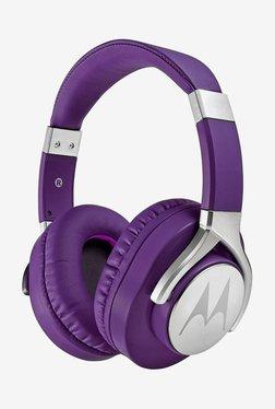 Motorola Pulse Max Over the Ear Headphones (Purple)