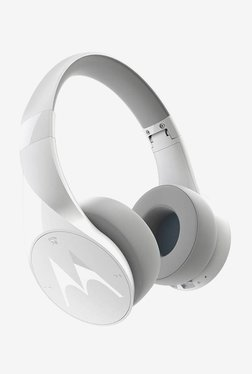 Motorola Pulse Escape Over the Ear Bluetooth Headphones (White)